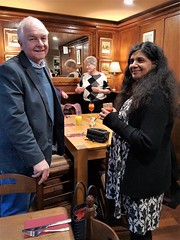 David Jones & Rakshita Patel (photo by Catherine Eggler)