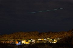 (Molly Sanborn) Tags: nature valley fire valleyoffire nevada travel explore roadtrip photography airplane light campground contrail longexposure night sky nightsky nightphotography astrophotography astralphotography stars