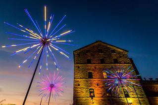 The Electric Dandelions by Abram Santa Cruz @  Toronto Light Fest
