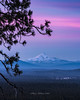 Mount Jefferson Sunset (TierraCosmos) Tags: mountjefferson cascades sunset pinkclouds landscape bessiebutte centraloregon pastelsky winter oregon bend colorfulsky colorfulsunset