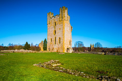 Helmsley Castle - The East Tower (Geordie_Snapper) Tags: canon1635mm canon5d4 coldday february gaduatedfilters helmsleycastle landscape northyorkshire winter