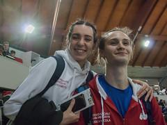 Elisabetta Vandi e Nicola Cesca