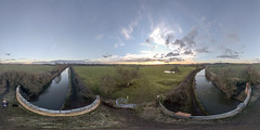 Cathiron 17th February 2018 (boddle (Steve Hart)) Tags: cathiron warwickshire unitedkingdom gbr 17th february 2018 steve hart boddle steven bruce wyke road wyken coventry united kingdon england great britain dji phanton 4 pro wild wilds wildlife life nature natural winter spring summer autumn seasons sunset weather sun sky cloud clouds panoramic landscape 360