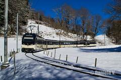 MOB ALPINA 9003 (danielev.tk) Tags: mob montreux oberland bernois zweisimmen montbovon hiver train panoramic alpina 9000