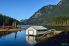 Buntzen Lake - Anmore (SonjaPetersonPh♡tography) Tags: portmoody anmore bc britishcolumbia canada nikon nikond5300 landscape buntzenlake lake scenic scenery kayaking mountains mountainlandscape fishing floatingwharf beach trees forest reflections waterreflections water park