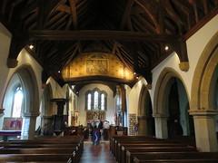 UK - Hertfordshire - Bushey - St James's Church - Nave (JulesFoto) Tags: uk england hertfordshire clog centrallondonoutdoorgroup bushey church