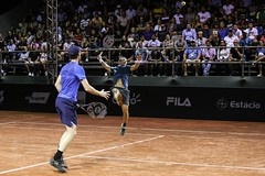 Bruno Soares (BRA) Jamie Murray (GBR) (Rio Open | 2018) Tags: verde