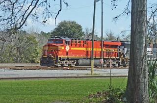 Norfolk Southern 8114, Valdosta Georgia
