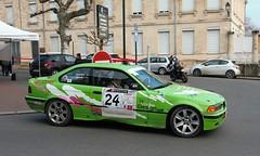 #24 BMW 325i - 02 (kinsarvik) Tags: castillonlabataille gironde bordeauxaquitaineclassic rallye rally