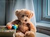 Spinning a Yarn (HTBT) (13skies) Tags: yarn tale book story reading telling talltales windowlight light sitting huntley teddybeartuesday teddybear waiting sonya57 happyteddybeartuesday playonwords