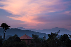 Sunrise over Nagarkot (tclemitson) Tags: himalayas nagarkot nepal sunrise