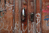 Cadix (hans pohl) Tags: espagne andalousie cadix portes doors details graphities