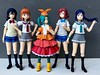 This IS My Natural Color! (Sasha's Lab) Tags: umi sonoda blue chika takami orange yotsugi ononoki teal maki nishikino red kanan matsuura indigo anime girl teen tween hair color figma action figure jfigure gsc