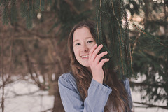 10   365 (rachel_jasaitis) Tags: 365project january wednesday day10 portrait woods winter