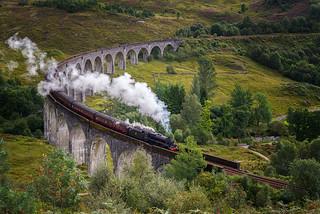 Hogwarts Express | Glenfinnan Viaduct, Scotland
