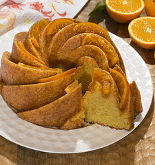 Bundt cake de naranja (Frabisa) Tags: bizcocho naranja desayunos meriendas dulce cocinacasera recetas spongecake orange breakfasts snacks sweet homemadecooking recipes