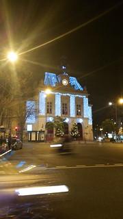 83 Paris Janvier 2018 - Place Gambetta, Mairie du XXième