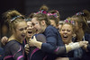 Celebrations (Kyle William Russell) Tags: college ncaa gymnastics gymnast celebrate happy smile cheer tumbling university illinois competition match meet photojournalism