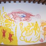 """Mural """"Dolor local en Oaxaca"""""""