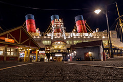All Aboard! (Jared Beaney) Tags: canon6d canon tokyodisneyresort tokyo tokyodisneyseas tokyodisneysea asia japan photography photographer travel disney themeparks themepark amusementpark disneyparks disneyresort sscolumbia sailingshipcolumbia americanwaterfront night