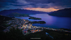 Queenstown Sunset (Nicholas Chewy) Tags: wanaka tree mitakon 50mm sony a7r2 a7rii a7r mk2 new zealand mountains lake sunrise sunset epic light mountain water sky forest serene landscape laowa 15mm f2