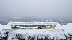 panorama du donjon DxOFP XT2 DSCF1042 (mich53 - thank you for your comments and 4M view) Tags: 4winter winter hiver larocheguyon landscape france frankreich saisons snow neige valdoise xt2 xf1655mmf28rlmwr brume panorama frost paysage landschaft river seine