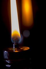 Flame - Macro Mondays (Crisp-13) Tags: flame macromondays macro mondays oil lamp burning fire wick