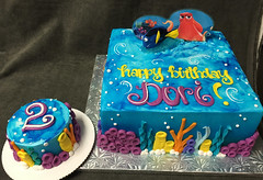IMG_4200 (Rick's Bakery) Tags: disney dory nemo cake smashcake cakekits ocean