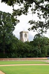 Blickling Church (Worthing Wanderer) Tags: norfolk summer sunny cloudy farmland august blicklingpark bure nationaltrust park parkland pathfinderguides path