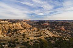 Palo Duro Canyon_MG_0239 (Alfred J. Lockwood Photography) Tags: alfredjlockwood nature landscape afternoon winter palodurocanyon clouds sky redrock texas
