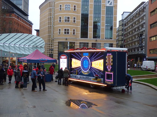 Hello Midlands Treasure Truck - Central Square, Brindleyplace