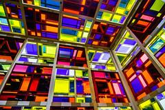 Daniel Buren, LAM, Villeneuve d'Ascq (pas le matin) Tags: geometric art musée museum lille lam villeneuvedascq lines perspective danielburen buren canon 7d canon7d canoneos7d eos7d