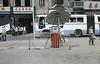 Petrol station in Wuhan (motohakone) Tags: china old slide digitized 1980 wuhan 武汉市 hubei 中国
