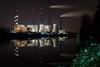 DSC03027-2 (patrickschüle) Tags: kraftwerk heizkraftwerk hkw lichterfelde teltowkanal steglitz berlin longexpo longexposhots nightshots night refelction powerplant