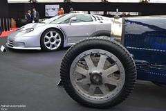 Génération de Bugatti !!! (Monde-Auto Passion Photos) Tags: voiture vehicule auto automobile bugatti eb110 coupé gris bleu ancienne classique rare rareté france paris vente enchère sothebys combo duo generation