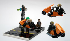 LSB2018 - Downtown ride (Additional views) (Faber Mandragore) Tags: lego moc speeder district18 district 18 abide lsb faber mandragore fabermandragore