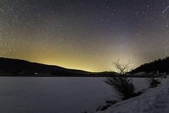 _69B5829 (DDPhotographie) Tags: ne brévine glace hiver lac milyway neige night nuit sky stars suisse taillères étoiles labrévine neuchâtel switzerland ch