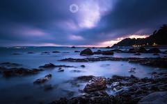 Evening Light (RTA Photography) Tags: meadfootbeach torquay devon southdevon rtaphotography nikond750 nikkor1835 longexposure sea still light sky nature rocks torbay