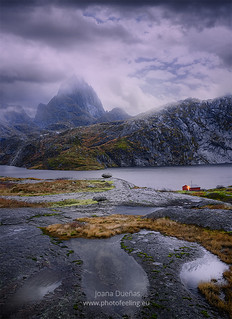 Lofoten up in the mountains