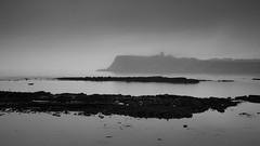 Scarborough - Castle at dawn (Tony McLean) Tags: ©2018tonymclean scarborough leicamonochrom leica35summiluxfle landscape monochrome blackwhite northyorkshire