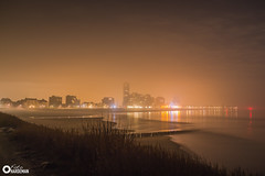Boulevard in de mist (Omroep Zeeland) Tags: mist vlissingen boulevard ochtend donker vroeg skyline walcheren zeeland