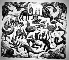 Plane Filling II (1957) - Maurits Cornelis Escher (1898 - 1972)