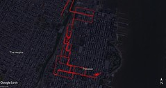 February 2018 My Tracks (Hoboken) (quiggyt4) Tags: aerials mytracks aerial gps gpstracking gpstrack gpstracks googlemaps map mapping visualization data nyc newyork newyorkcity wrentham massachusetts boston weehawken nj newjersey ashland framingham bellingham waltham newton hoboken rockaway jerseycity occupy ows occupywallstreet ronpaul trump donaldtrump bermuda caribbean hamilton stgeorges island jfk queens jamaica secaucus princeton airport