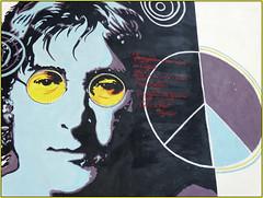♪♫•*¨*•.¸¸ Imagine.. (antonè) Tags: murales johnlennon imagine canzone pace fratellanza sangavinomonreale sardegna antonè streetart