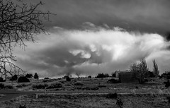 Cool Cloudy (Anna Gurule) Tags: bw blackandwhite beautiful black white skies sky stormyskies stormy storm artedgy annagurule annaortizgurule