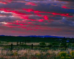 Sunset in El Prado (Santa Fe -- Taos Fine Art Photography) Tags: capture one sunset vivid taos santa fe landscape
