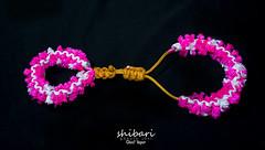 """Doll Trap"" (TheGhostVaporVision) Tags: shibari kinbaku rope pink bondage bdsm fashion design rigger knots beauty sexy artist art doll handcuffs cuffs paracord kinky"