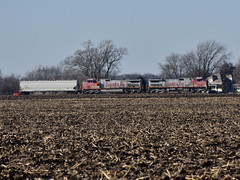 Back the other way (Robby Gragg) Tags: atsf bnsf c449w 654 galesburg