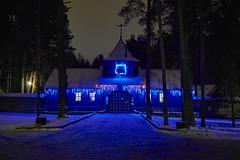 Dubna (Staropramen1969) Tags: night winter christmas church dubna nacht weihnachten kirche