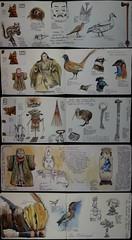 A Rouen (Nathalie Lefebvre 76) Tags: croquis carnet carnets carnetdevoyage aquarelle dessin rouen rouentourisme normandie normandietourisme seinemaritime musée museum